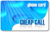 Cheap Call budget phone cards